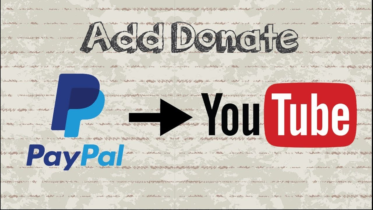 How to Add Paypal Donation Button to YouTube Channel