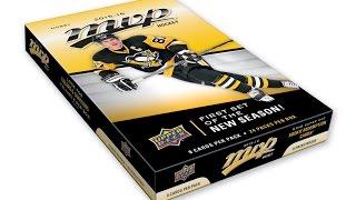 Box Busters: 2015-16 Upper Deck MVP hockey cards