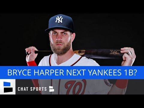 Yankees Rumors: Bryce Harper Could Play 1B, James Paxton News, Brian Cashman Talks Free Agency