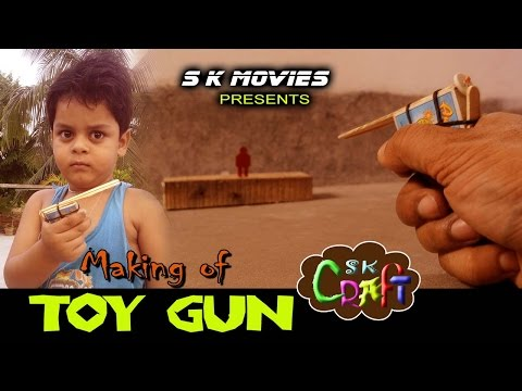Making of TOY GUN | Easy Toy making