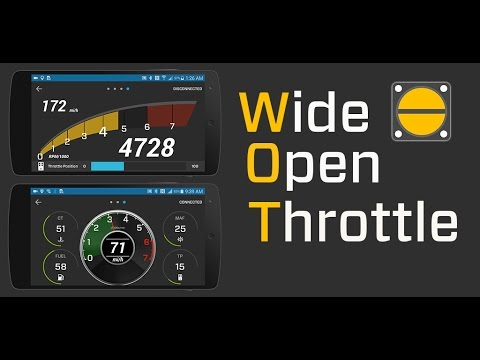 OBD - Wide Open Throttle / Android App