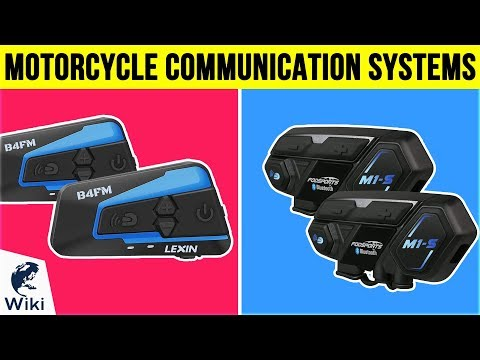 10 Best Motorcycle Communication Systems 2019