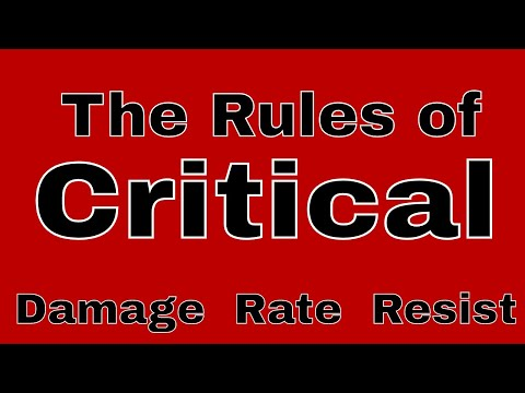 The Rules Of Critical In Castle Clash