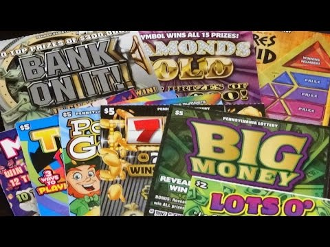 $50 Of Pennsylvania Lottery Scratch Off Tickets (Part 2)