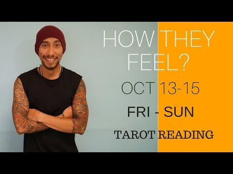 "LEO WEEKEND "" HOW THEY FEEL "" LOVE OCTOBER 13-15 TAROT READING"