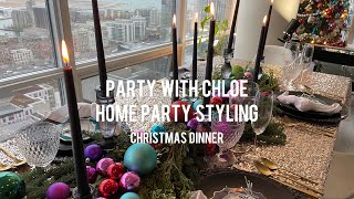 Home Party Styling and Food 홈파…