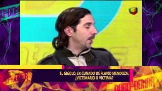 GIGOLO VS EX CUÑADO FLAVIO MENDOZA - ¿VICTIMA O VICTIMARIO? - 18-08-15