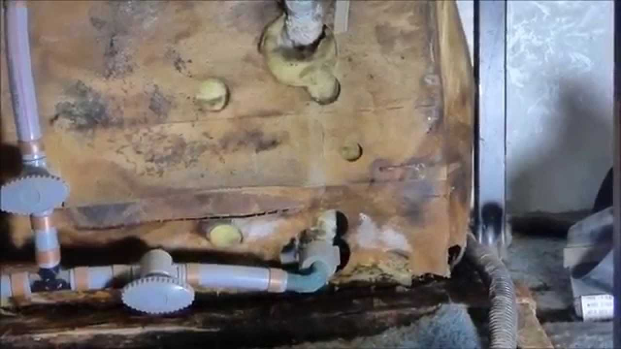 Fulltime RVing Leak around my RV water heater