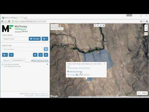 Farm Maps in the Cloud for Farmers, Realtors and Investors