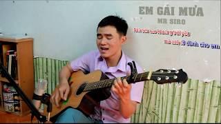 EM GÁI MƯA - HƯƠNG TRÀM | GUITAR COVER | PHẠM GIANG