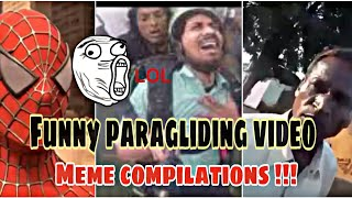 Funny Paragliding video | Funny meme compilations | SRocker