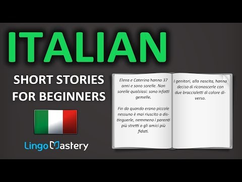 Italian Short Stories For Beginners - Learn Italian With Stories [Learn Italian Audiobook]