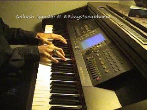 Ek Haseena Thi (Karz) on Piano by Aakash...