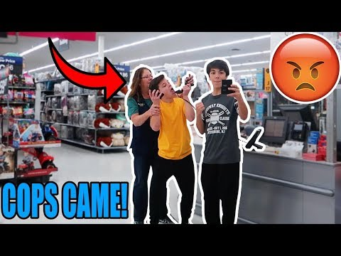 "PLAYING ""SICKO MODE"" ON THE WALMART INTERCOM! (KICKED OUT)"
