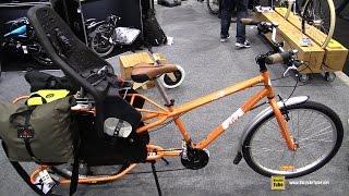 2015 Yuba Mundo Bike with Yepp Maxi Child Seat - Walkaround - 2015 Salon du Velo de Montreal