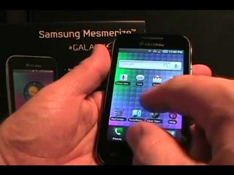 Samsung i500 Mesmerize Android Smartphone Review