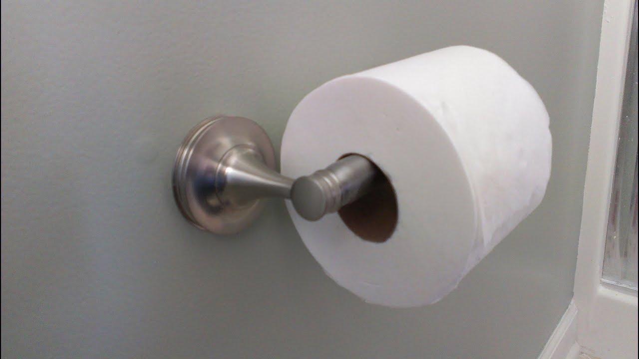 Como instalar un porta papel higienico youtube - Como disenar un bano ...