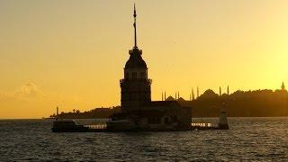 Uskudar - Üsküdar - Maiden's Tower - Stambuł - Turcja - Istanbul - Turkey - Bosfor