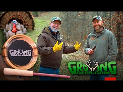 Turkey Hunters: How To Call Turkeys With Owl Hoots, Crow And Friction Calls (#377) @GrowingDeer.tv