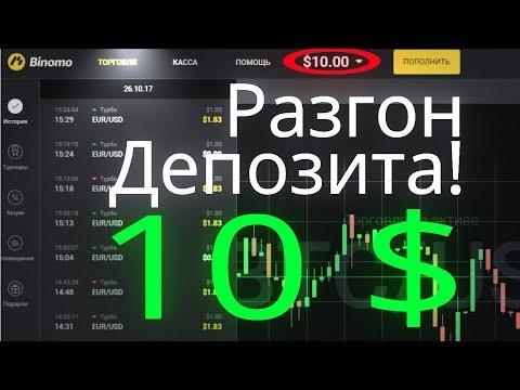 Разгон депозита С 10$ и Объемы Volumes-Analysis.