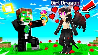 I got MARRIED in Minecraft to a GIRL MOB!