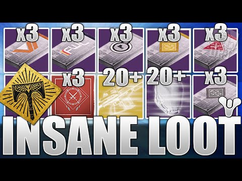 Destiny: Insane Rise Of Iron Loot Haul - Opening 50+ Exotics / Legendaries - Packages & More!