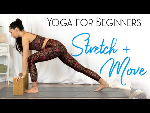 Yoga for Beginners ( Full Body Stretch and Strengthen )