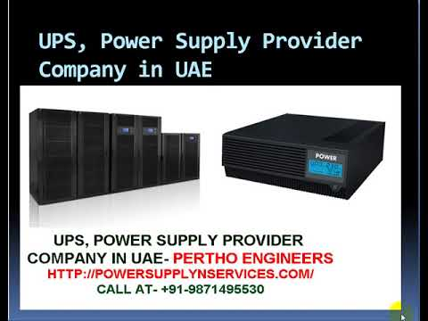 UPS Power Supply Provider Company in UAE