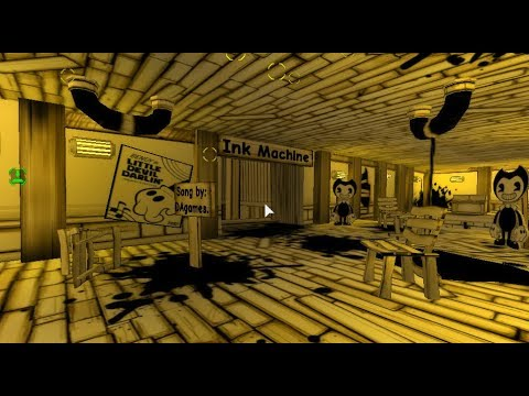 Roblox Flood Escape 2 Test Map Bendy And The Ink Machine