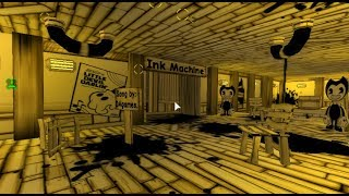 Roblox Flood Escape 2 (Test Map) - Bendy and The Ink Machine [Updater ver.] (Insane) (Multiplayer)