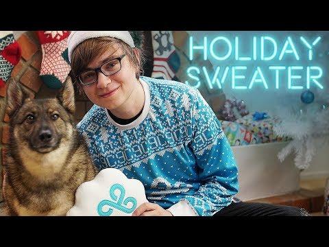 C9 Holiday Sweater ft. Smol Doggos