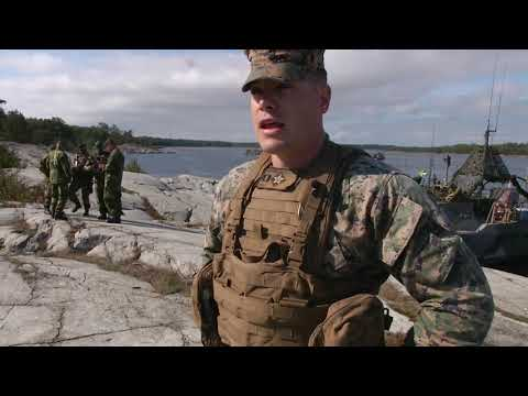 Archipelago Endeavor - Interview with U.S. Marine Captain Andrew Davis STOCKHOLM, AB, SWEDEN