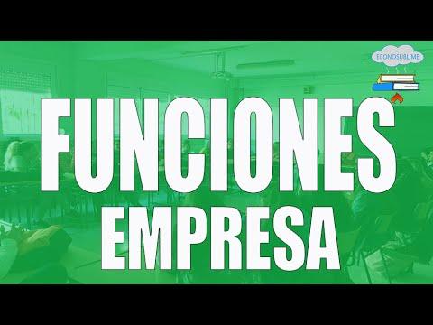 4. LAS FUNCIONES DE LA EMPRESA