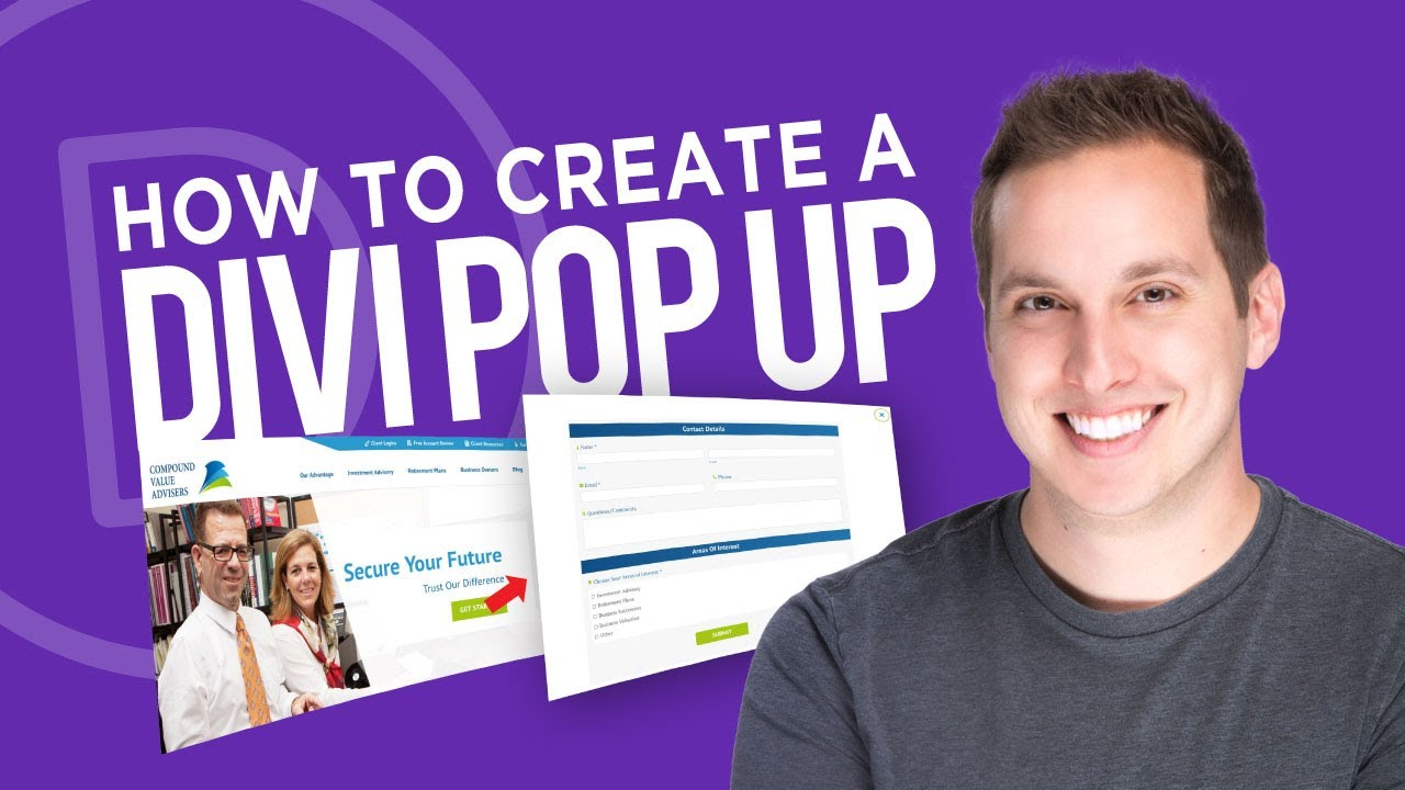 How to Create a Divi Popup with Divi Overlays