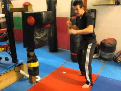 Diesel Muay Thai lead roundhouse kick