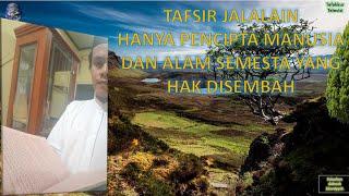 Praktek Baca Kitab Kuning; Tafsir Jalalain; Kajian Ilmu Nahwu ALLOH LAH YANG HAK DISEMBAH ; Part 9