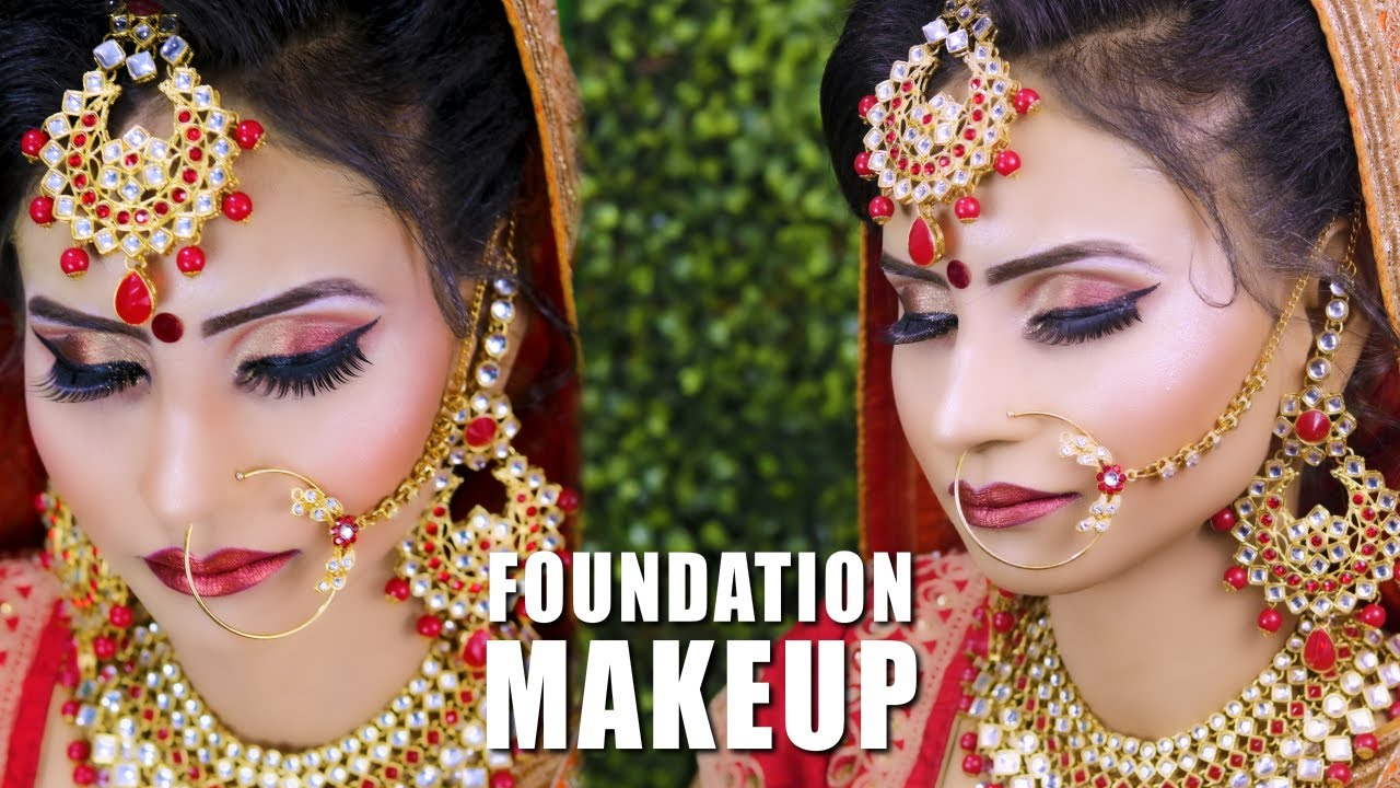 MAC Ki FOUNDATION Sey Bridal Makeup | PRABHA MAKEOVER