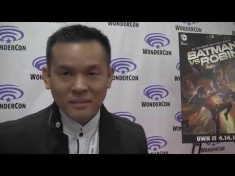 BATMAN VS. ROBIN (WonderCon 2015 World Premiere) - Interview With Jay Oliva