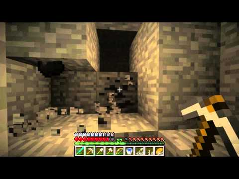 Minecraft   Episode 98   Who the hell has been down here exploring