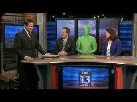 Weatherman gets pranked on April Fool's Day