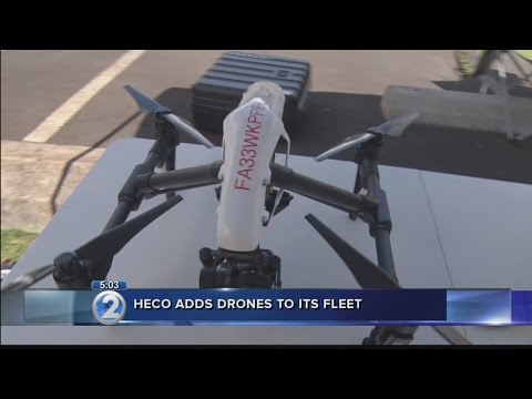 Hawaiian Electric implements drones to improve service, emergency response