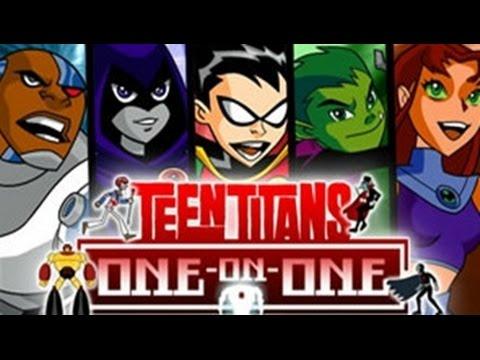 Teen Titans Go ! - One On One - Tenn Titans Games - YouTube
