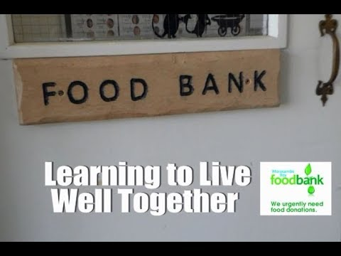 Morecambe Bay Foodbank Learning To Live Well Together With Dr Andy Knox