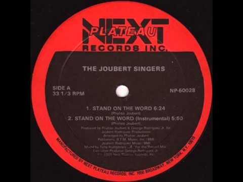 LARRY LEVAN   STAND ON THE WORD  JOUBERT SINGERS