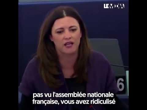 """Humiliation Macron n°2  """"VOTRE CONCEPTION DE LA DÉMOCRATIE EST NAPOLÉONIENNE"""""""