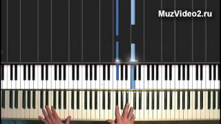 Ray Charles - Hit The Road Jack, tutorial видеоурок 2/6