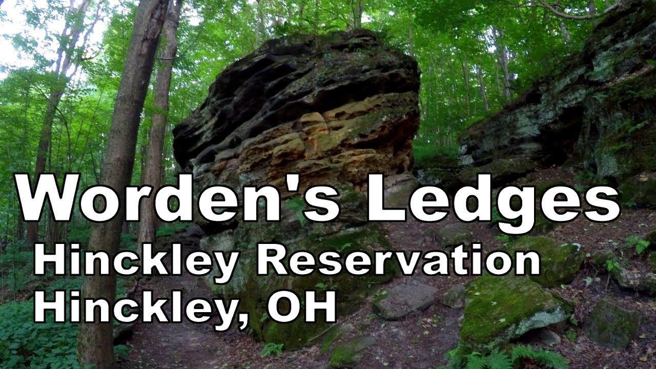 Hiking worden s ledges hinckley reservation cleveland