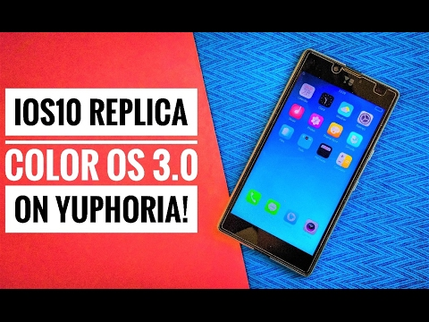 IOS 10 on Yuphoria?! feat. Install OPPO ColorOS 3.0 (VoLTE)! ~ IOS 10 Replica!