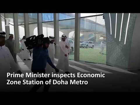 A ride on Doha Metro one of the fastest in the region 100kph