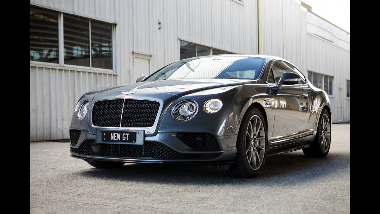 2016 Bentley Continental GT V8 S Review - YouTube